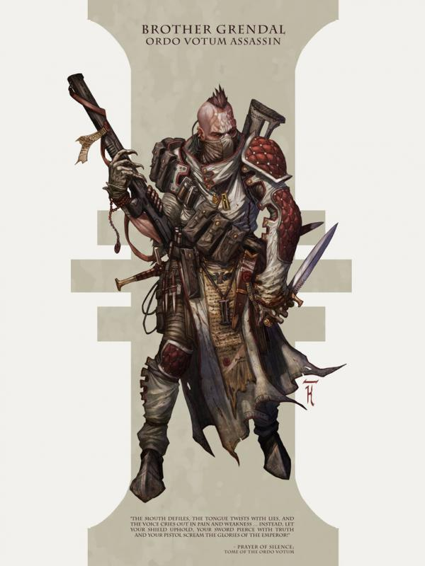 Grendal, assassin by david kegg