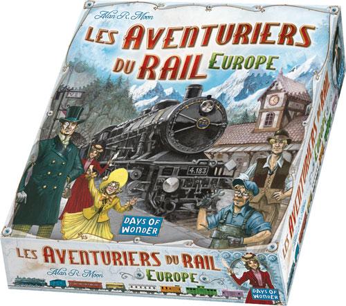 Les aventuriers du rails europe
