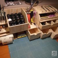 Organiseur pour atelier de modeliste hobbyzone hz wm1